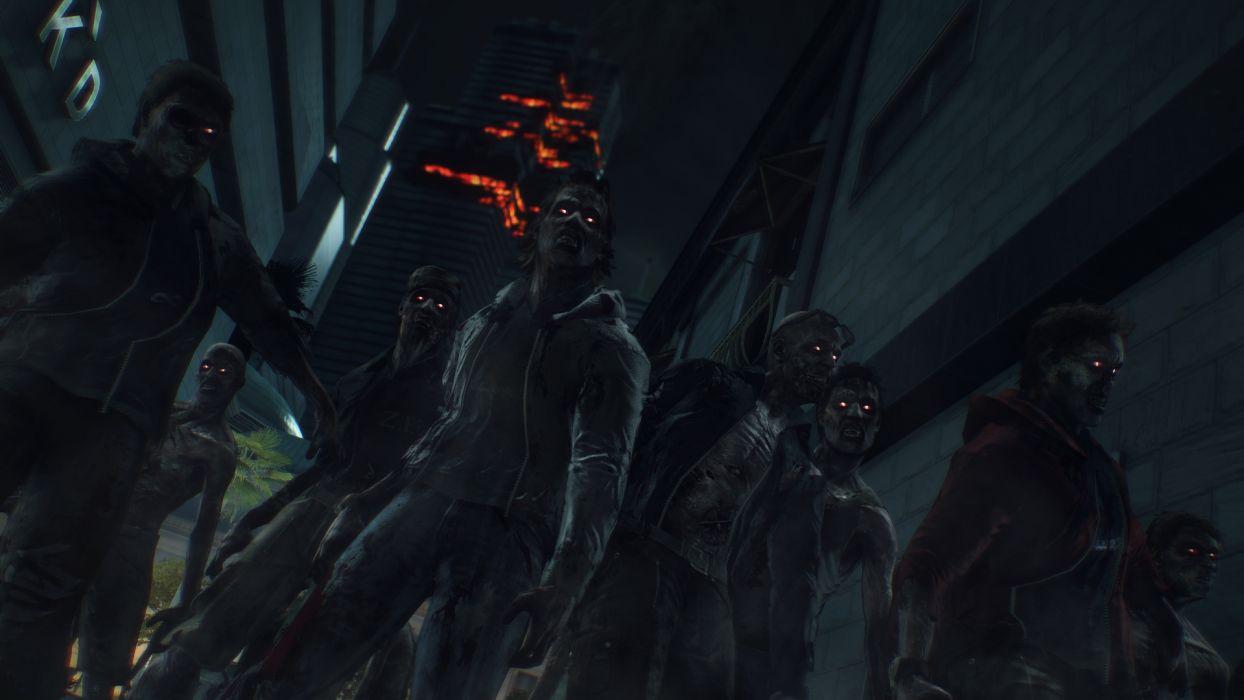 DEAD RISING dark game zombie    s wallpaper