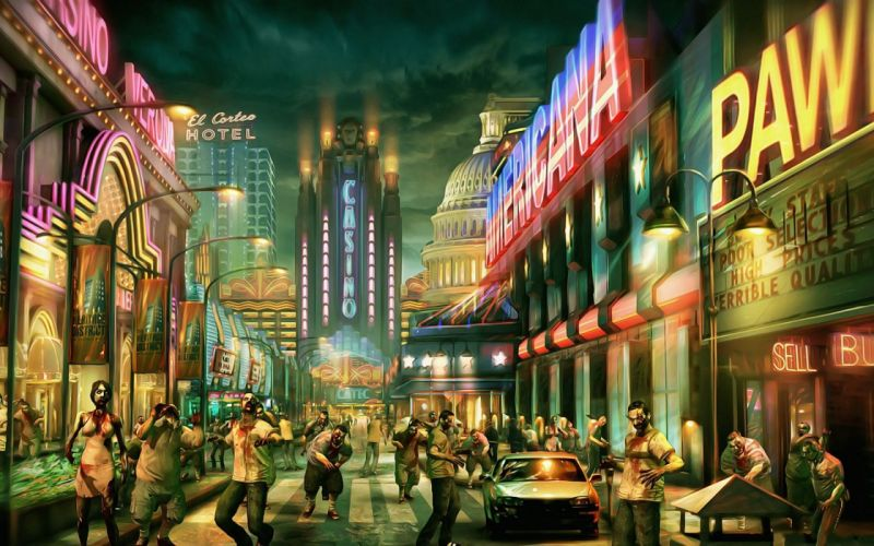 DEAD RISING dark game zombie apocalyptic g wallpaper
