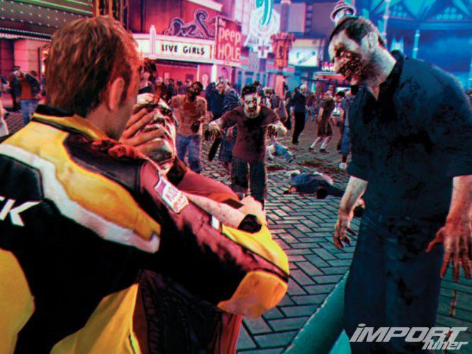 DEAD RISING dark game zombie blood f wallpaper