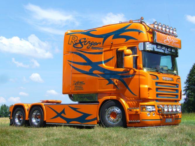 Scania Roland Singer Longline wallpaper