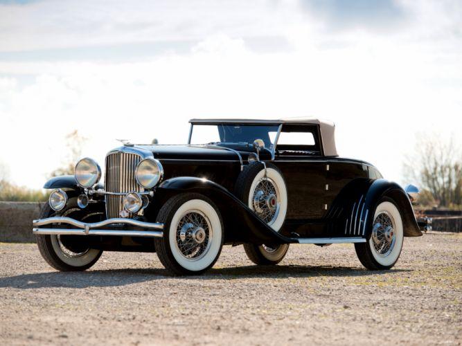 1930 Duesenberg J357-2388 Convertible Coupe by Murphy SWB luxury retro d wallpaper