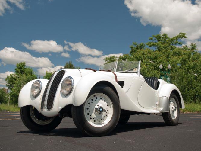 1937 BMW 328 Roadster retro t wallpaper