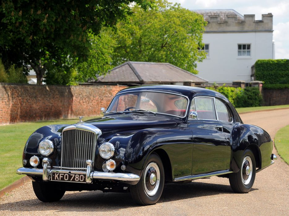 1953 Bentley R-Type Continental Fastback retro luxury     r wallpaper