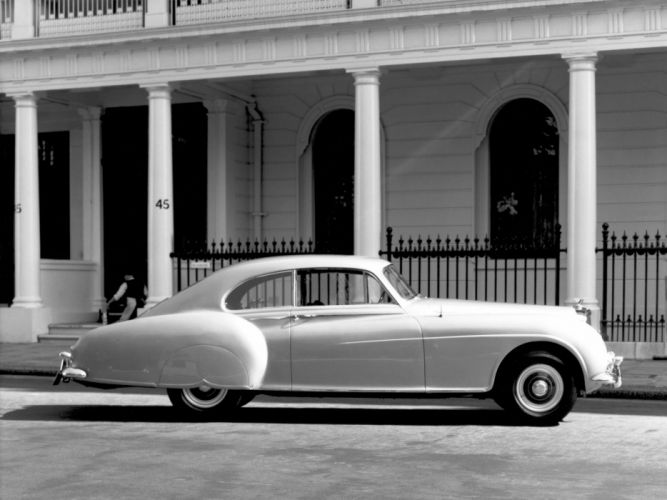 1953 Bentley R-Type Continental Fastback retro luxury h wallpaper