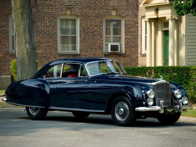 1953 Bentley R-Type Continental Fastback retro luxury gt wallpaper