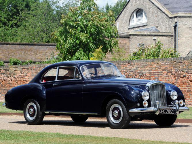 1953 Bentley R-Type Continental Fastback retro luxury r wallpaper