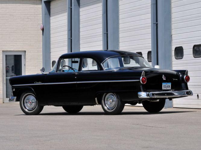 1955 Ford Customline 2-door Sedan (70B) retro d wallpaper
