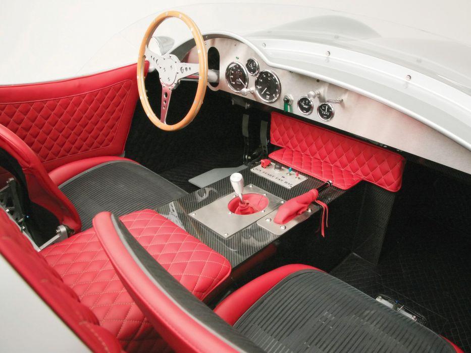 1957 Aston Martin DBR2 supercar retro interior     t wallpaper
