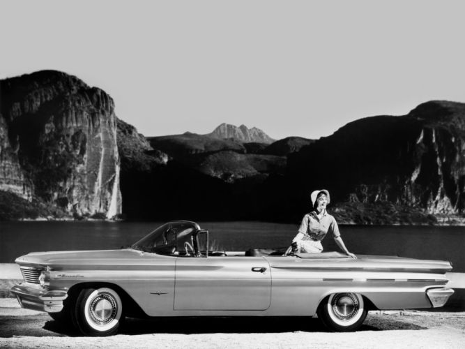 1960 Pontiac Bonneville Convertible (2867) luxury classic h wallpaper