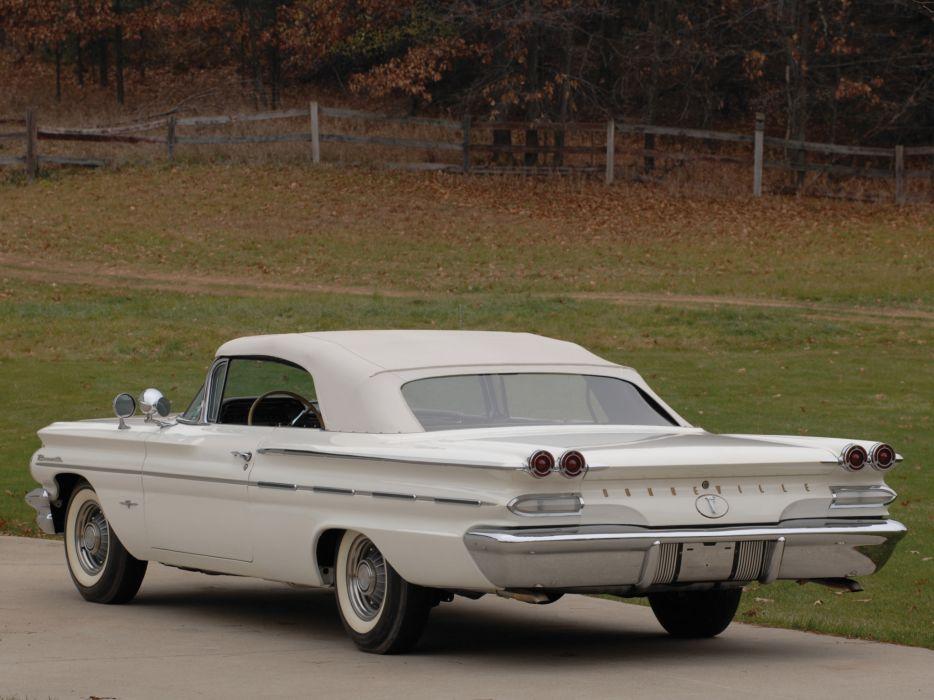 1960 Pontiac Bonneville Convertible (2867) luxury classic  v wallpaper
