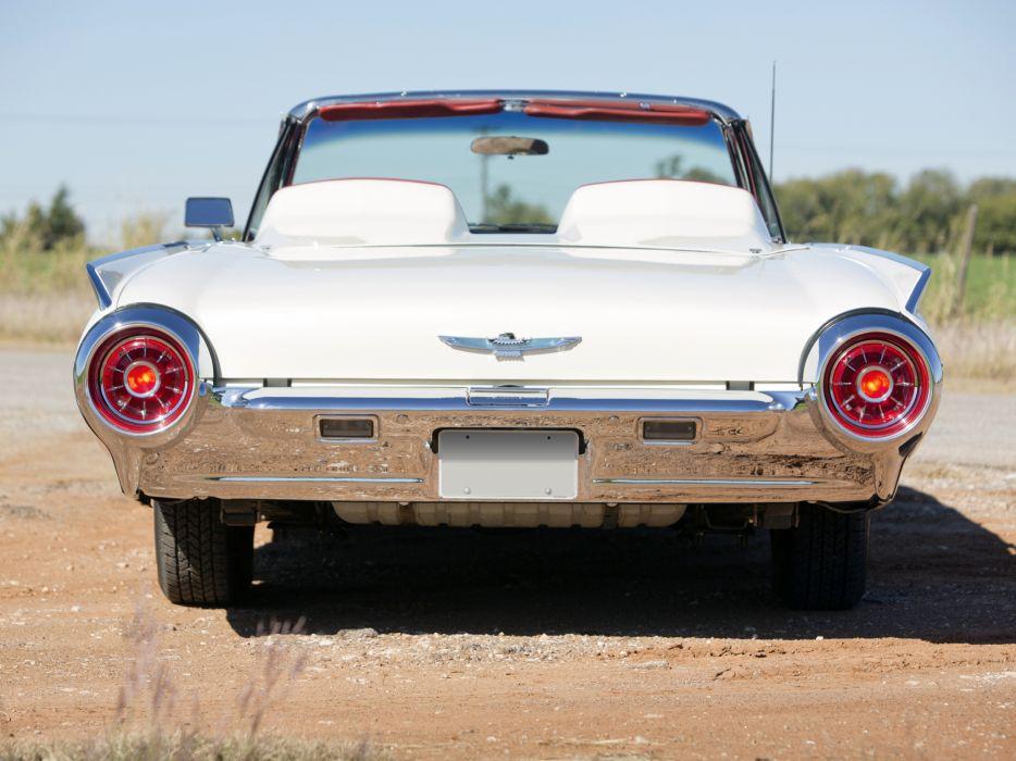 1963 Ford Thunderbird 390 340HP Convertible Roadster (76B) luxury classic supercar    g wallpaper