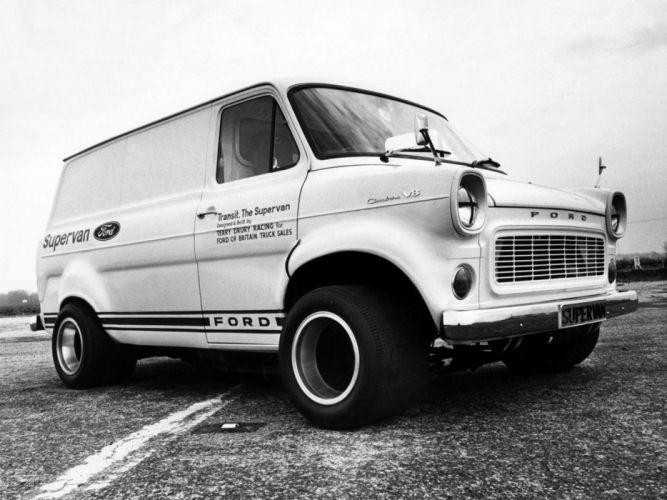 1971 Ford Transit Supervan 4x4 hot rod rods classic van g wallpaper