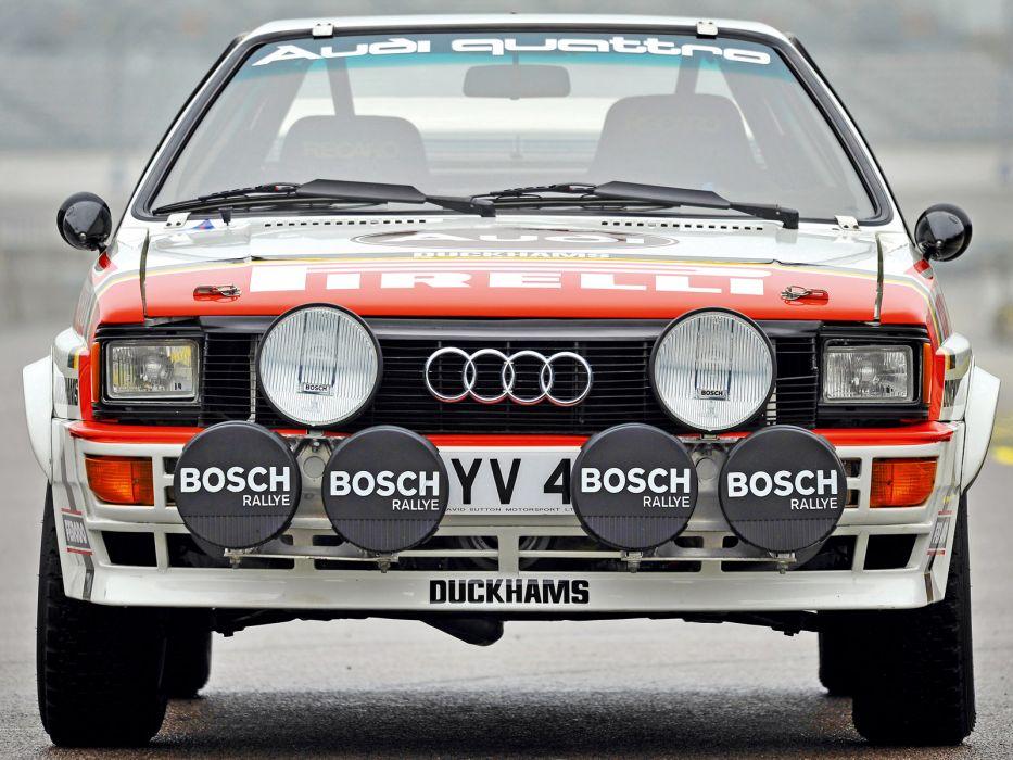 1981 Audi quattro Group-4 Rally Car (Typ-85) race racing   h wallpaper