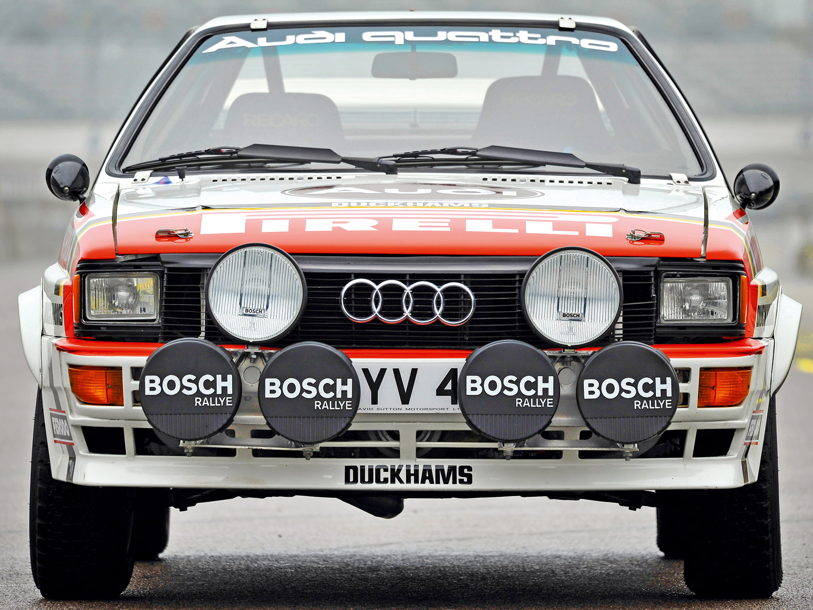1981 Audi Quattro Group 4 Rally Car Typ 85 Race Racing H