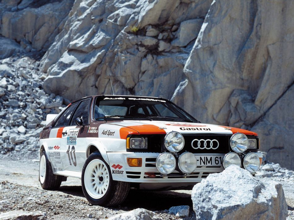 1981 Audi quattro Group-4 Rally Car (Typ-85) race racing wallpaper