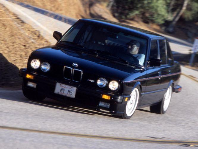 1986 BMW M5 US-spec (E28) m-5 wallpaper