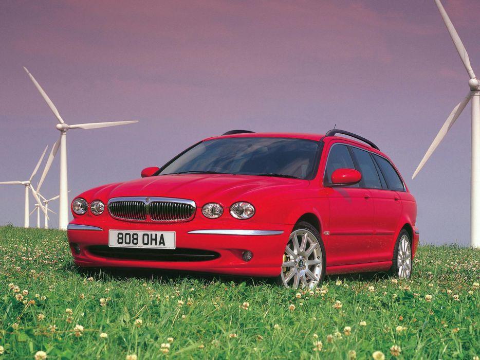 2004 Jaguar X-Type Estate UK-spec stationwagon luxury wallpaper