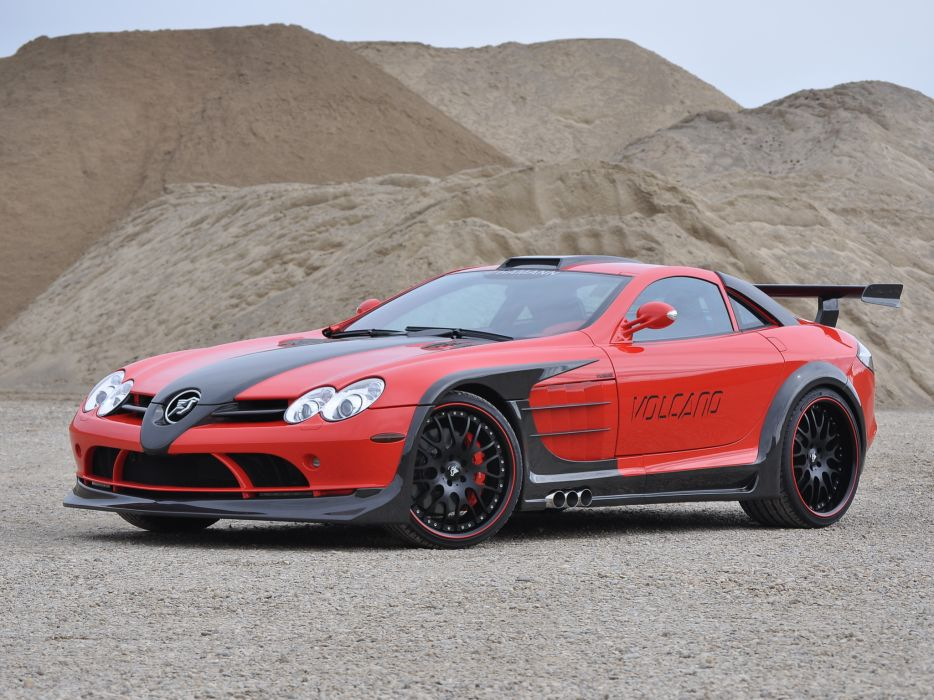 2009 Mercedes Benz SLR McLaren Hamann Volcano supercar tuning    f wallpaper
