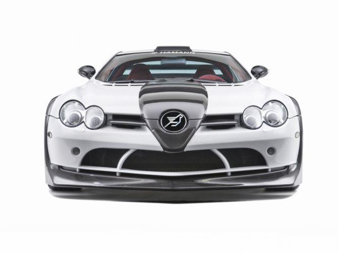 2009 Mercedes Benz SLR McLaren Hamann Volcano supercar tuning ff wallpaper