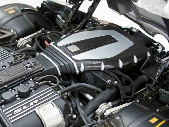 2009 Mercedes Benz SLR McLaren Hamann Volcano supercar tuning engine g wallpaper