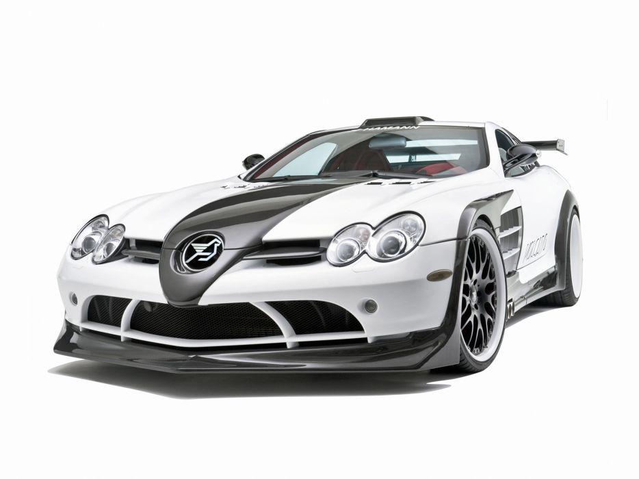 2009 Mercedes Benz SLR McLaren Hamann Volcano supercar tuning  y wallpaper