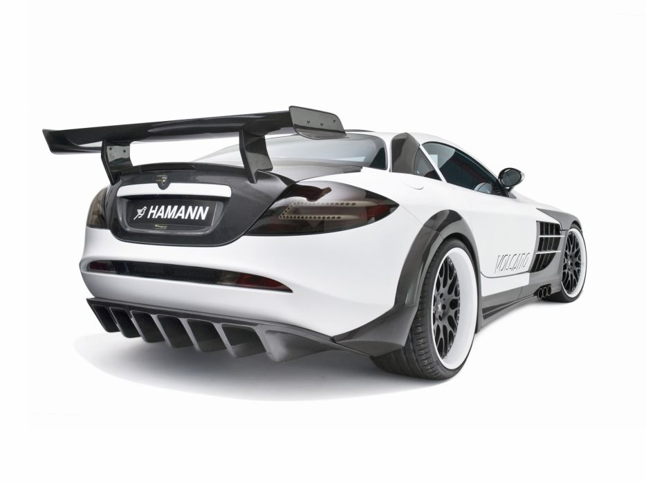2009 Mercedes Benz SLR McLaren Hamann Volcano supercar tuning interior g wallpaper