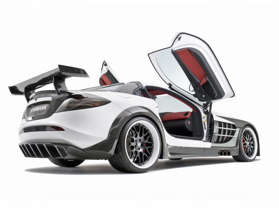 2009 Mercedes Benz SLR McLaren Hamann Volcano supercar tuning interior      g wallpaper