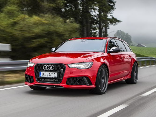 2013 ABT Audi RS6 Avant (4GC7) stationwagon tuning g wallpaper