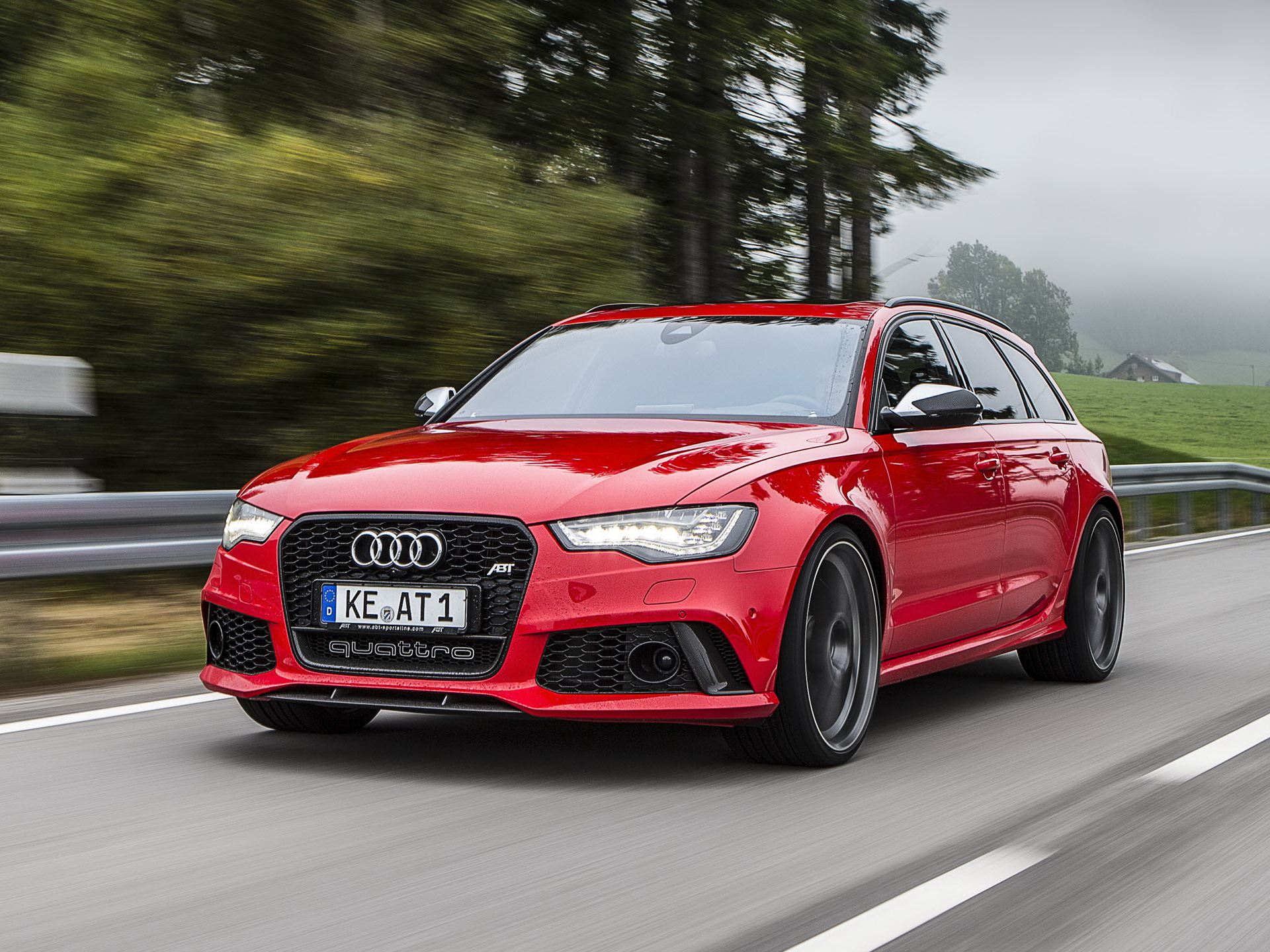 2013 ABT Audi RS6 Avant (4GC7) stationwagon tuning g wallpaper
