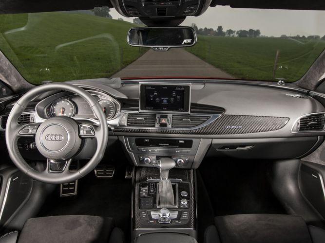 2013 ABT Audi RS6 Avant (4GC7) stationwagon tuning interior g wallpaper
