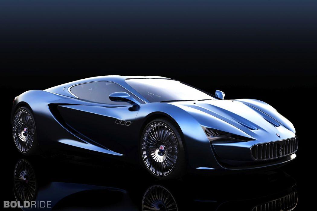 2013 Maserati Bora Concept by Alex Imnadze supercar      g wallpaper