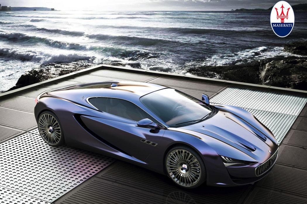 2013 Maserati Bora Concept by Alex Imnadze supercar t wallpaper