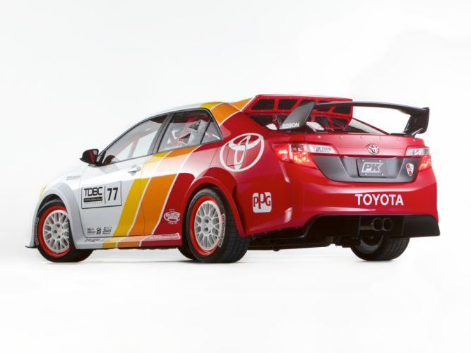 2013 Toyota Camry CamRally rally race racing sema btcc t wallpaper