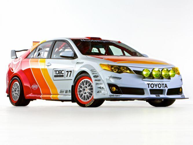 2013 Toyota Camry CamRally rally race racing sema btcc d wallpaper