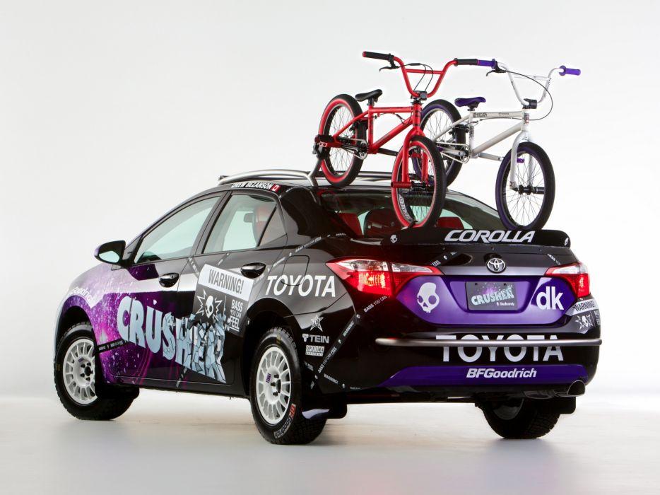 2013 Toyota Corolla Crusher sport bicycle bmx moto xgames tuning       f wallpaper