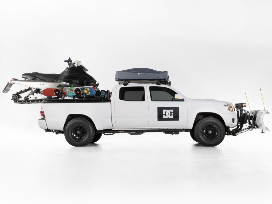 2013 Toyota Tacoma DC-Shoes 4x4 offroad xgames winter snowmobile     r wallpaper