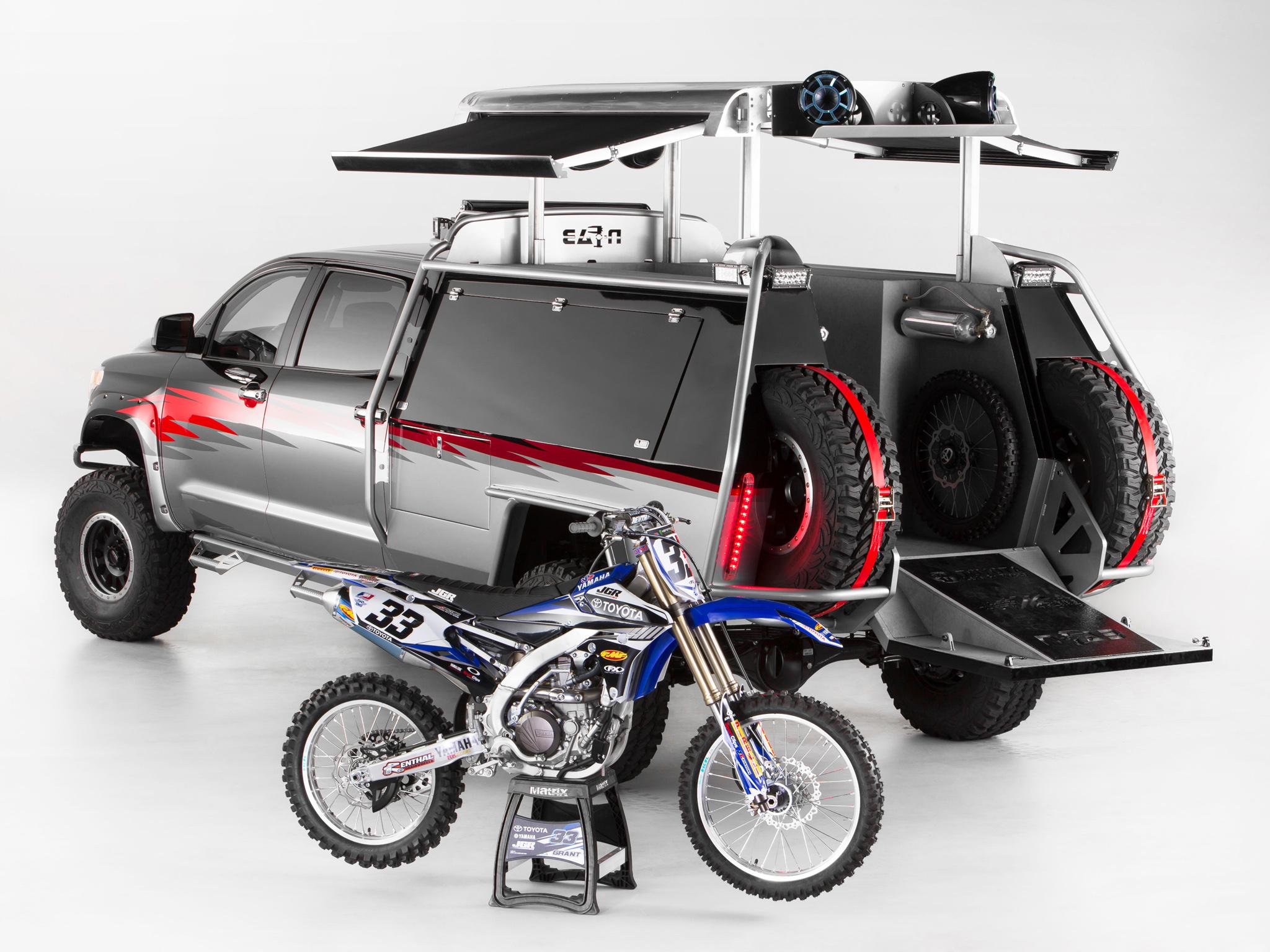 2013 Toyota Tundra Lets Go Moto Offroad 4x4 Dirtbike
