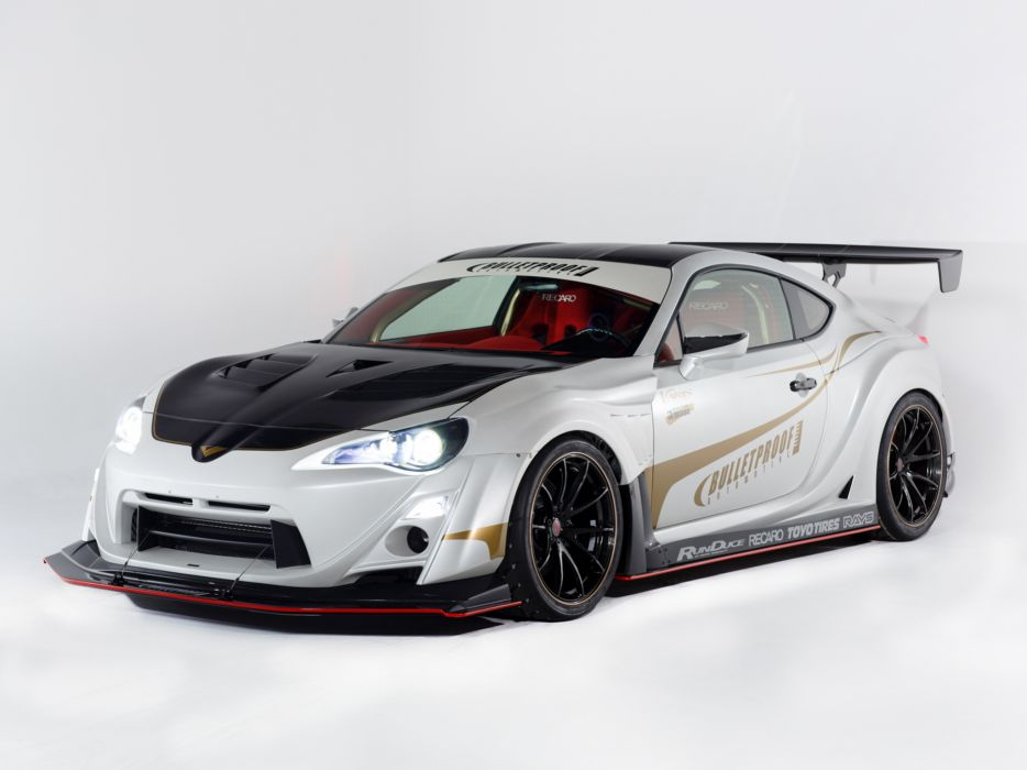 2014 Bulletproof Scion FR-S Concept One race racing tuning      s wallpaper