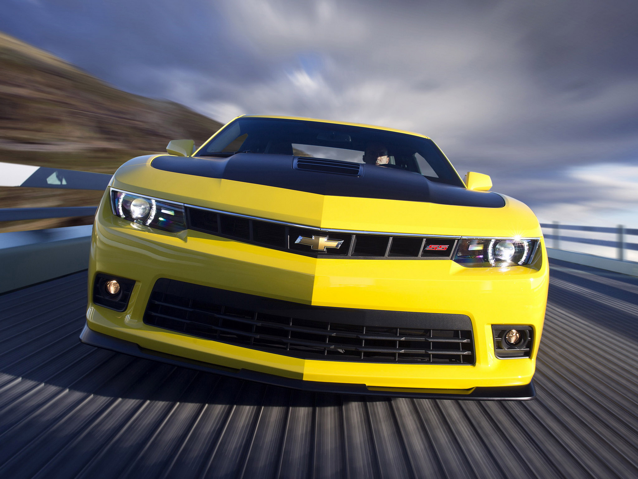 2014 Chevrolet Camaro Ss 1le Muscle S S G Wallpaper 2048x1536