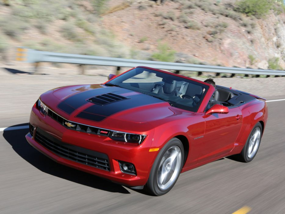 2014 Chevrolet Camaro SS Convertible muscle s-s       f wallpaper
