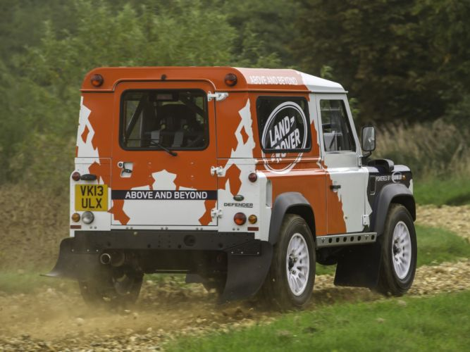 2014 Land Rover Defender Challenge Truck suv 4x4 g wallpaper