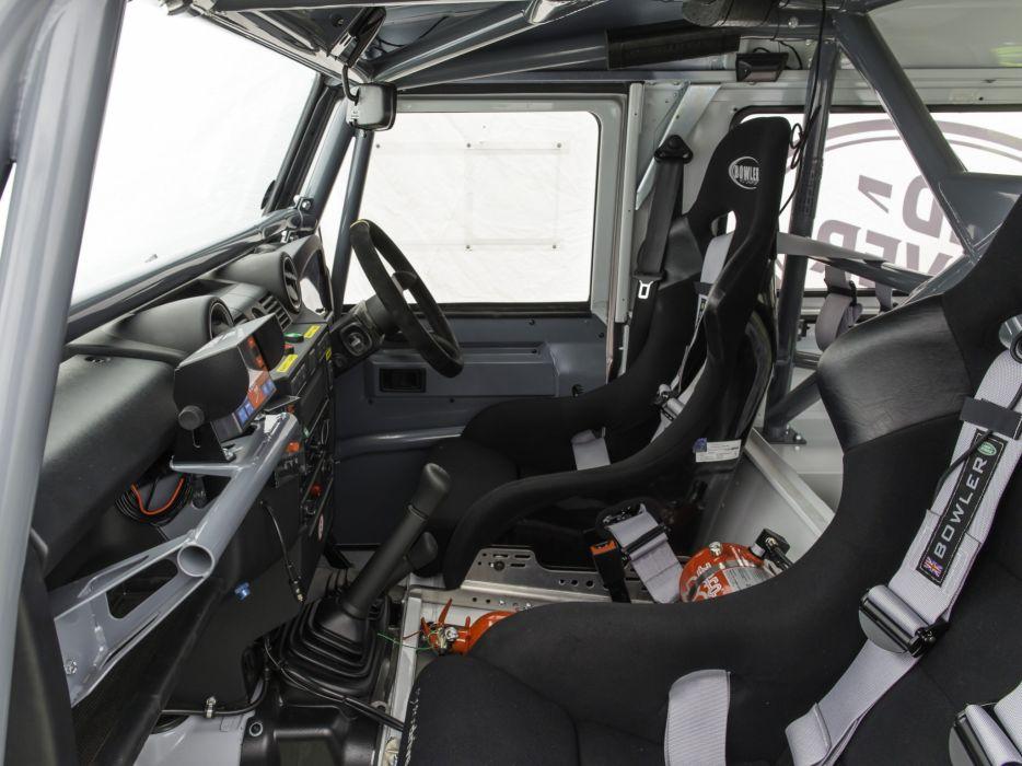 2014 Land Rover Defender Challenge Truck suv 4x4 race racing interior   h wallpaper