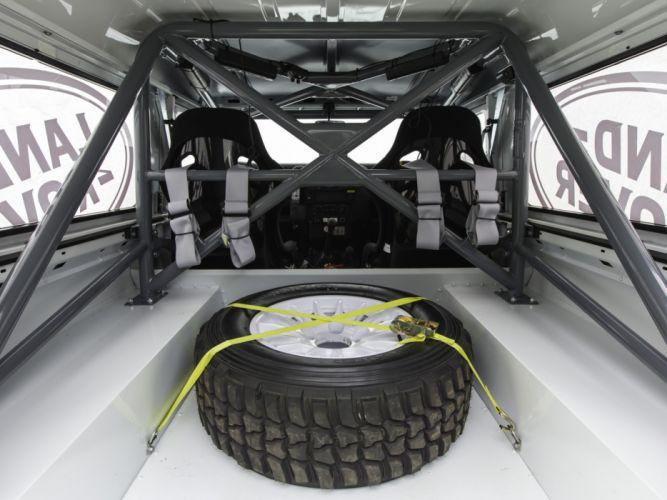 2014 Land Rover Defender Challenge Truck suv 4x4 race racing interior wheel j wallpaper