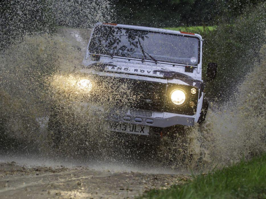 2014 Land Rover Defender Challenge Truck suv 4x4 race racing   g wallpaper