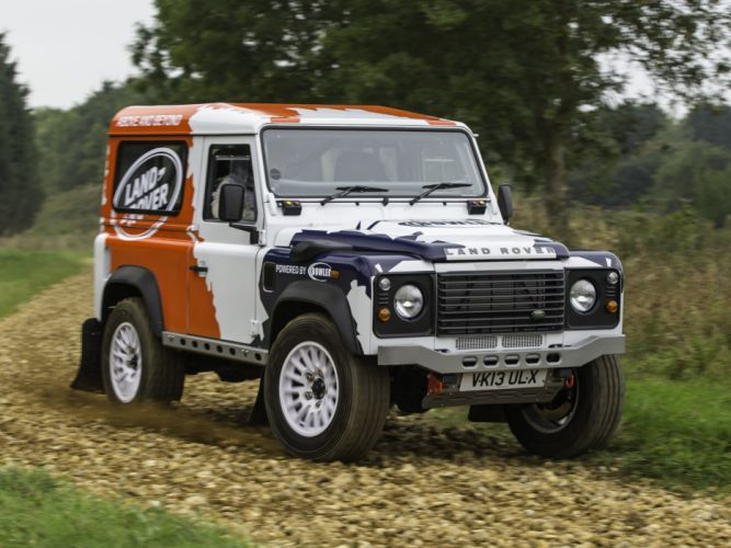2014 Land Rover Defender Challenge Truck suv 4x4 gd wallpaper