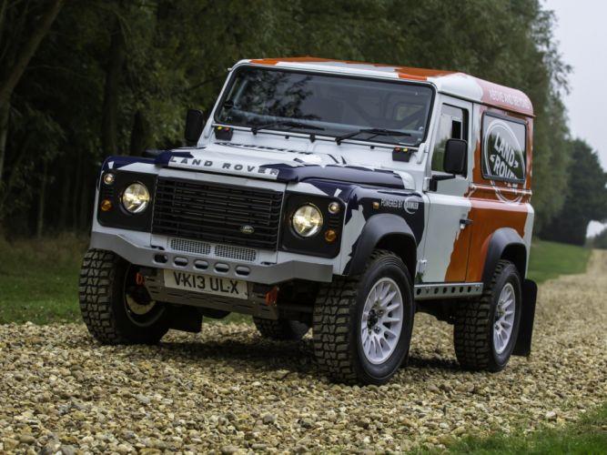 2014 Land Rover Defender Challenge Truck suv 4x4 f wallpaper