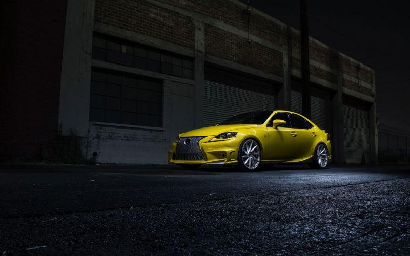 2014 Lexus IS 350 F Sport by Vossen-Wheels tuning i-s f wallpaper