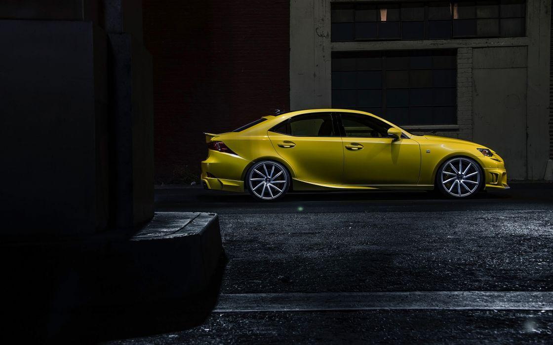 2014 Lexus IS 350 F Sport by Vossen-Wheels tuning i-s    fs wallpaper