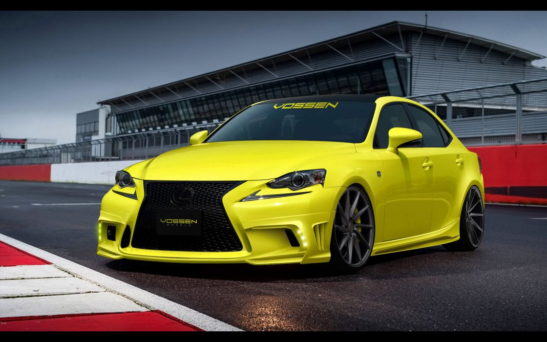 2014 Lexus IS 350 F Sport by Vossen-Wheels tuning i-s   f wallpaper