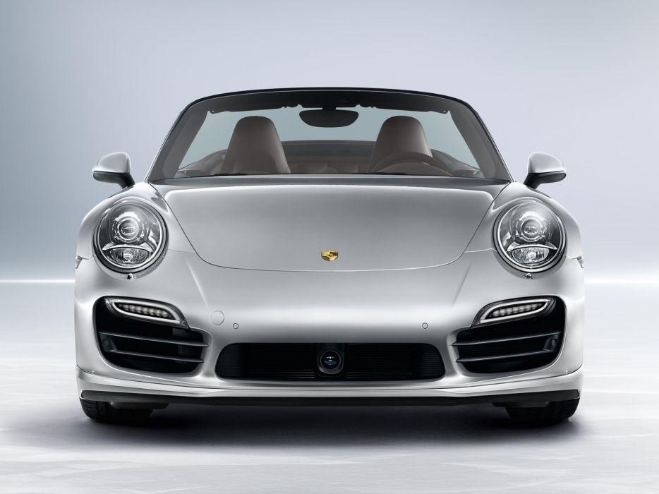 2014 Porsche 911 Turbo Cabriolet 991  f wallpaper